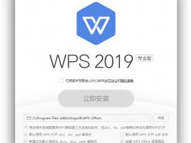 WPS Office 2019 Pro Plus 11.8.6.8697 专业增强自激活版