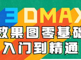 3DMAX效果图零基础入门到精通